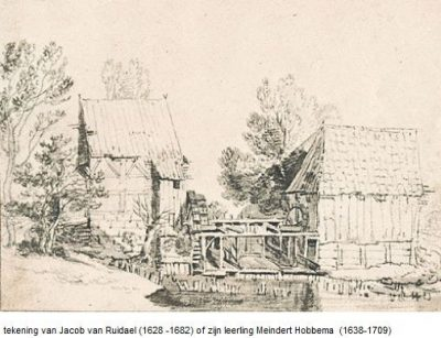 Noordmolen Twickel - Jacob van Ruidael
